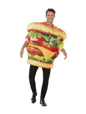 Adult Burger Costume Couples Costume