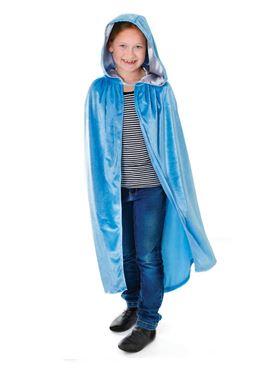 Child Blue Hooded Cloak
