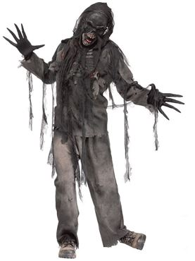 Adult Burnt Zombie Costume