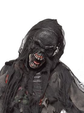 Adult Burnt Zombie Mask