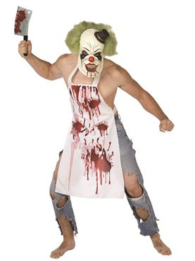 Adult Butcher Clown Costume
