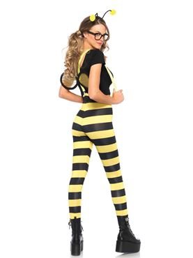 Adult Buzzed Bee Costume - Back View