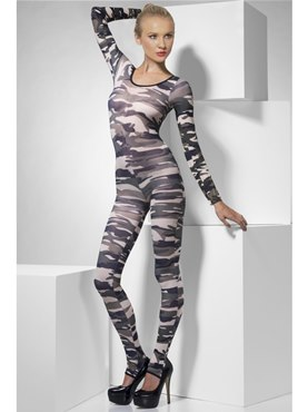 Adult Camouflage Bodysuit