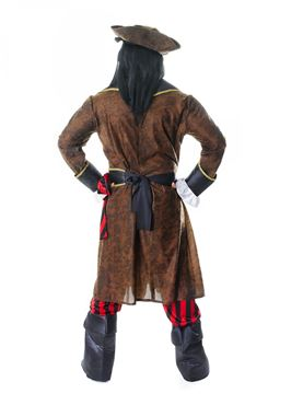 Adult Captain John Longfellow Costume - Side View
