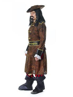 Adult Captain John Longfellow Costume - Back View