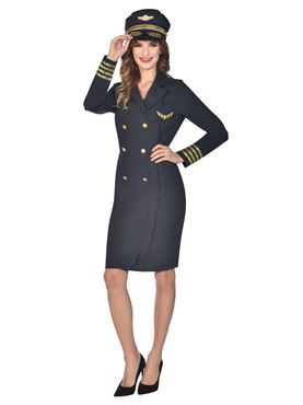 Adult Captain Lady Costume