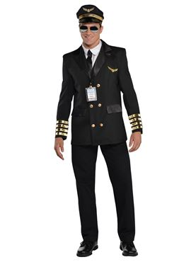Adult Captain Wingman Costume Couples Costume