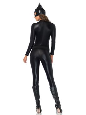 Adult Captivating Crime Fighter Costume - Back View