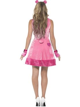 Adult Care Bears Cheer Bear Costume - Back View