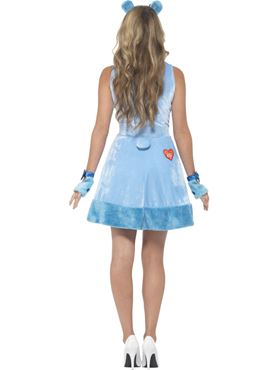 Adult Care Bears Grumpy Bear Costume - Side View
