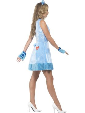 Adult Care Bears Grumpy Bear Costume - Back View