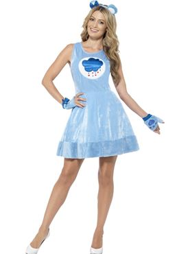 Adult Care Bears Grumpy Bear Costume