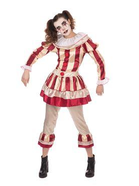 Adult Carnevil Clown Female Costume