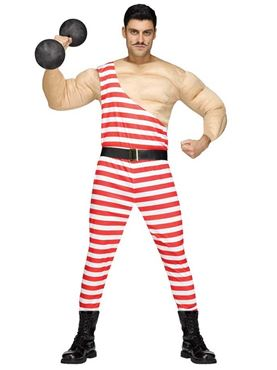 Adult Carny Muscle Man Costume