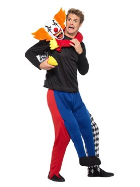 Adult Lift Me Up Kidnap Clown Costume