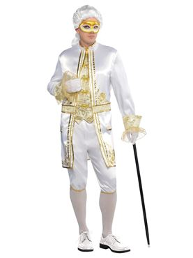 Adult Casanova Costume Couples Costume