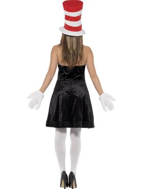 Adult Cat in the Hat Costume - Side View