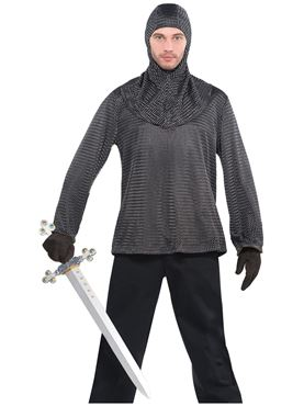 Adult Chain Mail Tunic and Hood