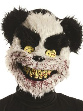 Adult Charles Teddy Bear Mask Couples Costume