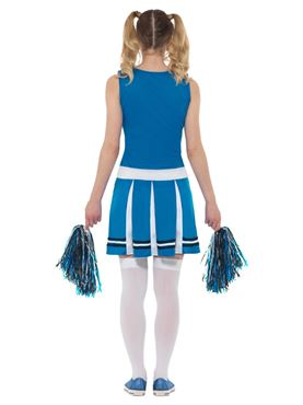 Adult Cheerleader Costume - Side View