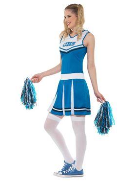 Adult Cheerleader Costume - Back View