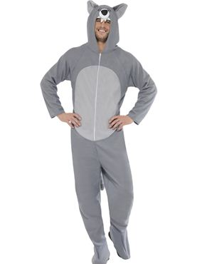 Adult Wolf Onesie Costume