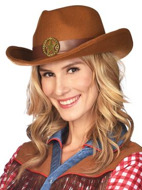 Adult Chief Belinda Cowgirl Hat