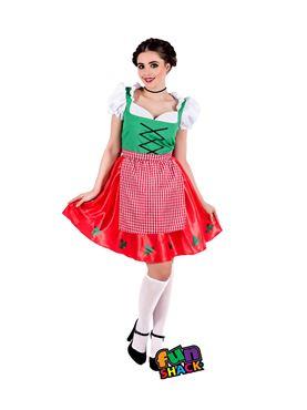 Adult Christmas Dirndl Dress