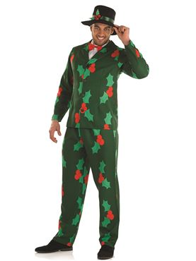 Adult Christmas Gentleman Suit