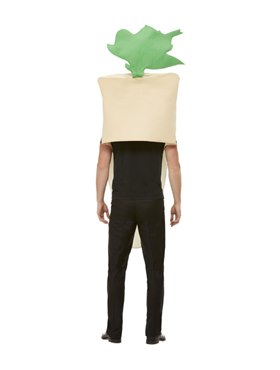 Adult Christmas Parsnip Costume - Side View