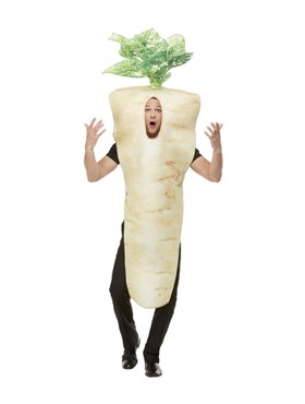 Adult Christmas Parsnip Costume - Back View