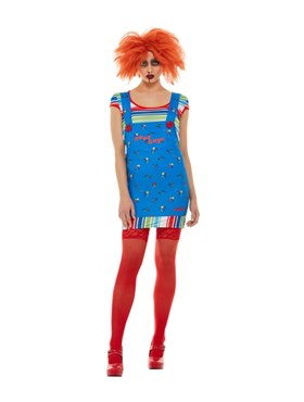 Adult Chucky Costume - Back View