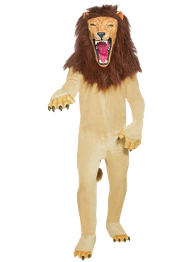 Adult Cirque Sinister Vicious Circus Lion Costume Couples Costume