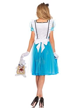 Adult Classic Alice Costume - Back View