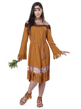 Adult Classic Indian Maiden Costume Thumbnail