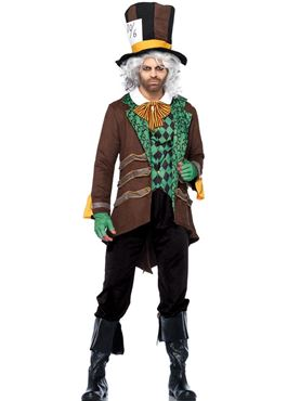 Adult Deluxe Classic Mad Hatter Costume