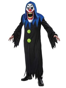 Adult Clown Elongated Face Costume