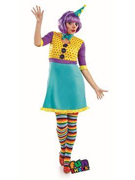 Adult Clown Girl Costume