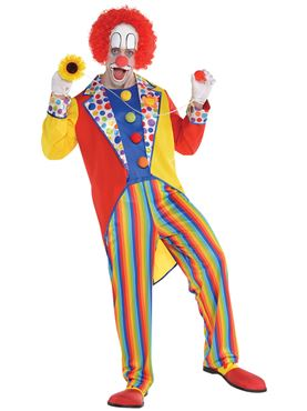 Adult Clown Suit