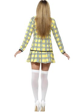 Adult Clueless Cher Costume - Side View
