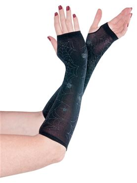 Adult Cobweb Arm Warmers