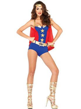 Adult Comic Book Girl Costume