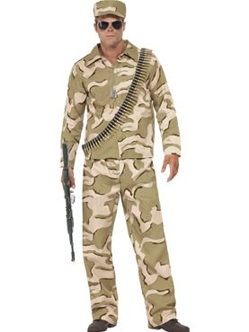 Adult Commando Army Costume Thumbnail