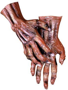 Adult Deluxe Corpse Zombie Hands