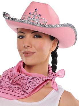 Adult Cowgirl Rhinestone Hat