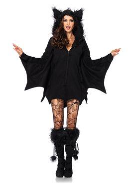 Adult Cozy Bat Costume