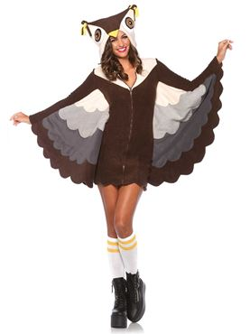 Adult Cozy Owl Costume