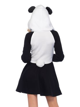 Adult Cozy Panda Costume - Back View