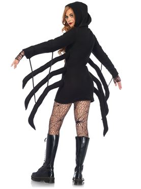 Adult Cozy Spider Costume - Back View