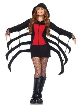 Adult Cozy Spider Costume Thumbnail